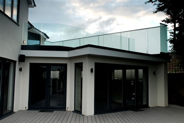Dyke Road Case Study - Rear aspect and balcony